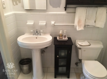 bathroom renovation One Room Challenge
