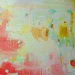"""emerging artist Michelle Armas's contemporary piece """"Joie"""" found at Gregg Irby Fine Art"""