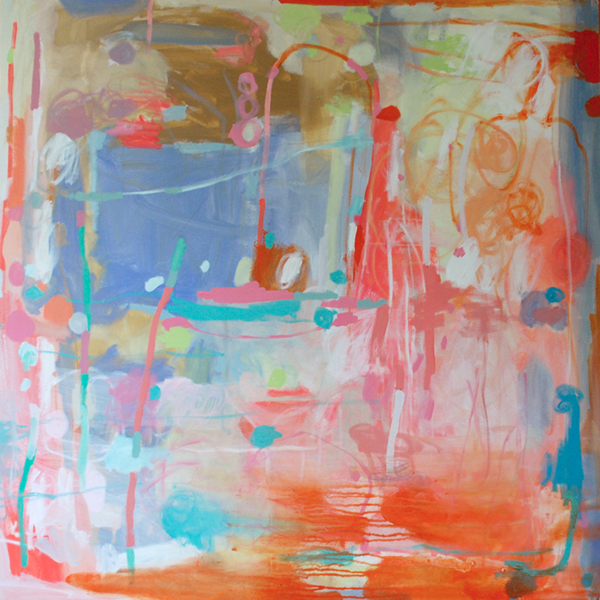 """emerging artist Michelle Armas's contemporary piece """"OK Great"""" found at Gregg Irby Fine Art"""