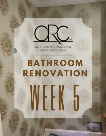 Bathroom Renovation: One Room Challenge – Week 5